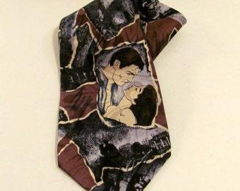 Vintage Gone With The Wind Necktie