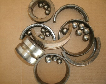 Dismantled Bearings, Forging/Knifemaking Steel (sold by pound)