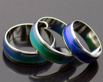 Mood Rings - Quality Stainless Steel