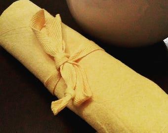 Set of 4 reusable napkins