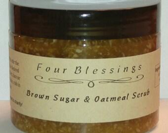 Brown Sugar & Oatmeal Scrub