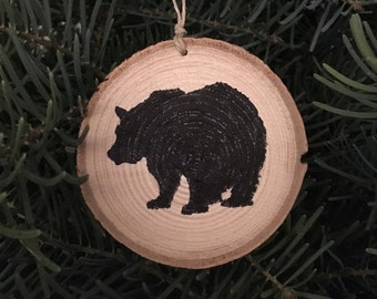 Wood slice ornament, Rustic Ornament, home decor, Christmas ornament, wood slice, Scripture ornament, tree ornament, Christian ornament