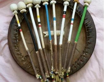 Navajo Native American Fringed Drum Beater