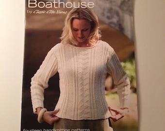 Boathouse Knits Sweater Instruction Book #9070  14 Handknitting patterns