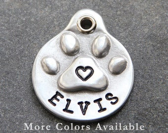 Funny Dog Tags - Dog ID Tags - Custom Pet ID Tag - for Dogs - Pet Tag - Custom ID Dog Tags - Cute Pet Tag - Pet Name Tags - Silver Dog Tag