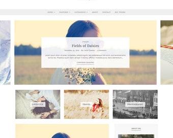 Essence - WordPress Theme - WordPress Blog Theme - Feminine WordPress theme - Responsive WordPress theme - WordPress Template