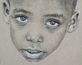Limited Edition Print, 'Portrait #3'