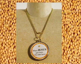Reversible Mustard Seed necklace