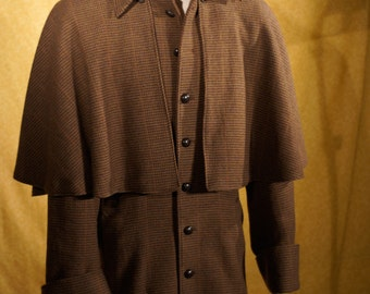 Awesome Inverness Coats----Custom Made in Plaids and Tweeds