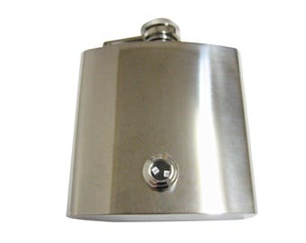 Rattling Dice 6 oz. Stainless Steel Flask