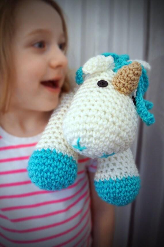 Einhorn-Baby-Dusche Baby-Dusche-Geschenk häkeln Tier Pferd
