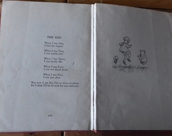 The Christopher Robin Verses, A. A. Milne, Ill. Ernest H. Shepherd