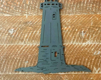 Custom Metal Lighthouse Wall Art, Wall Hanging