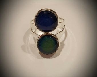 Double mood ring