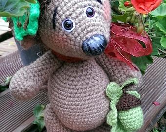 TIMI the Hedgehog crochet pattern