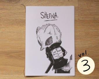 Illustration Zine & Comic Sheena Vol.3