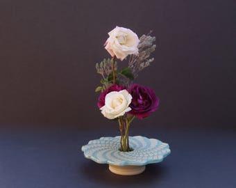 Spiral Pottery Vase