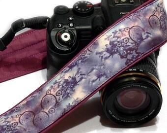 Dream Catcher Camera Strap. Purple Camera Strap. Photo gear. Camera Accessories. SLR, DSLR Camera Strap. Gift For Photographer.