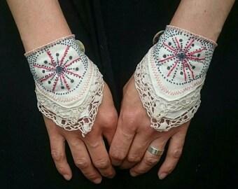 Highland Fairy wrist cuffs