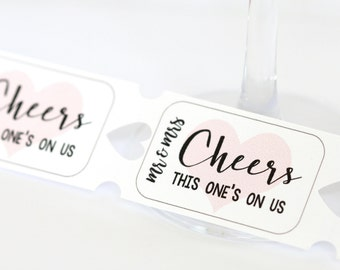 Personalized Drink Tickets, Wedding Drink Tickets, Party Drink Tickets, Bridal Shower Drink Tickets, Engagement Party, Bachelorette Party