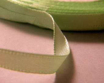 11 m fluorescent green ribbons clear 6 mm - No. 1