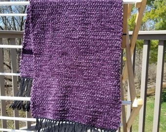 SOFT Royal Purple Scarf