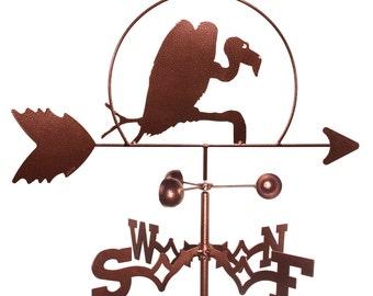 Hand Made Buzzard Vulture Weathervane NEW