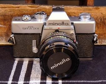 Minolta SR-T 201 Film Camera | Vintage Camera | Tested Working | 35mm