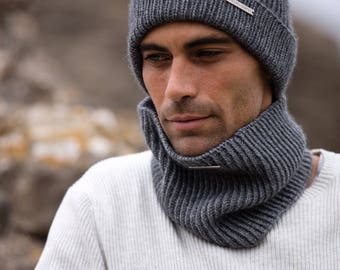 Gents cashmere snood