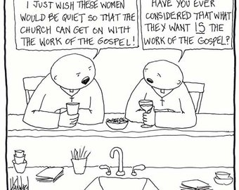 Women and the Work of the Gospel CARTOON