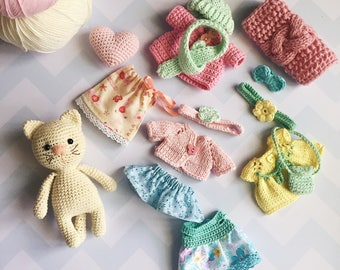 Amigurumi Cat Doll : Stuffed fox crochet fox amigurumi animals forest animal