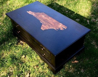 North Carolina State Coffee Table