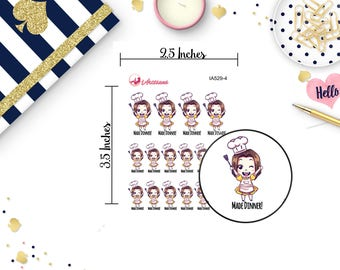 Cooking Stickers - Baking Stickers - Accomplishment Stickers - Stickers for Planners - Happy Planner - Planner Stickers - Life Planner