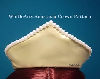 PDF Pattern: Anastasia Crown, Adult, Cosplay Pattern, instructions included