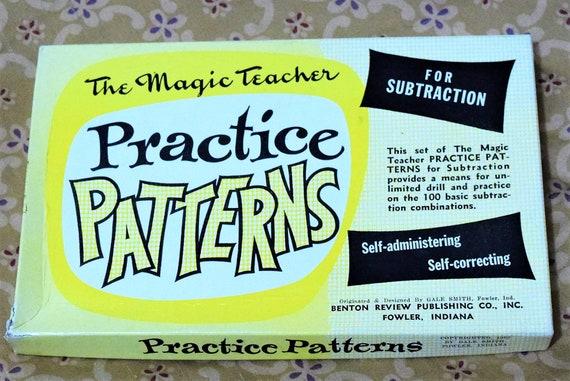 The Magic Teacher Practice Patterns Vintage Math Practice