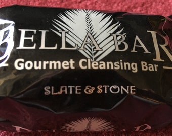 Gourmet Mia Bella Soaps/Slate and Stone Gourmet Soap For Men/Soap/Gourmet Soap Gift/Gift Soaps/Bar Soaps/Bath Bar/Scented Soap Bars For Men