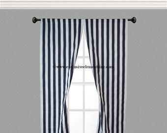 Striped drapes | Etsy