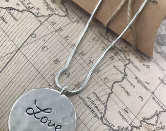 Love, Where there is love... Necklace