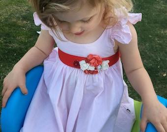 Flower Dress Sashes