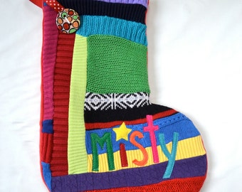 Christmas Stocking - Personalized