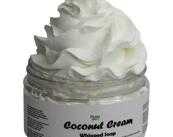Coconut Cream Whipped Soap