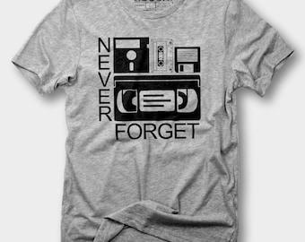 Never Forget Shirt - Funny Computer Shirt, Programmer Shirt, Geek Shirt, Funny Shirt, Computer Geek, Programmer, Nerd Shirt, Computer shirt