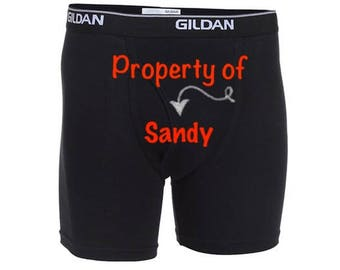 "Personalized Men ""Property of""/FAST SHIPPING/Anniversary/Birthday/Wedding"