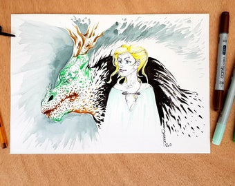 Illustration original - Daenerys Targaryen