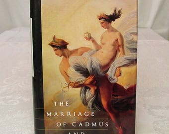 The Marriage of Cadmus and Harmony, by Roberto Calasso, 1993, 1st Am. Ed. ~ Greek Gods, Goddesses, Olympus, more