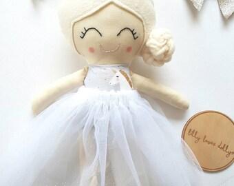 "Handmade cloth doll ""Charlotte"""