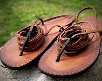 Leather Tarahumara Huarache sandals