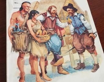 Pochahontas by Santrey Vintage Children's Picture Book