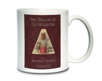 Coffee Mug; Tailor Of Gloucester Book Cover Beatrix Potter