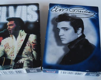 Lot of 2 Box Elvis Presley Bicycle poker playing card